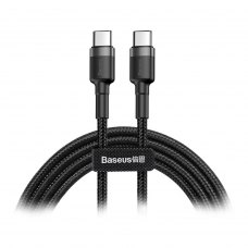 Кабель Baseus Cafule PD2.0 60W flash charging USB cable (20V 3A)2M Gray/Black