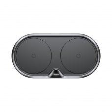 БЗП Baseus Dual Wireless Charger (EU) Black