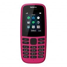Мобільний телефон Nokia 105 Single Sim 2019 Pink