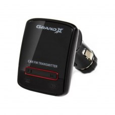 Автомобільний MP3-FM модулятор Grand-X CUFM79GRX Black AUX, USB 0,5A, SD card, 3,5mm mini-jack (CUFM79GRX)