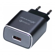 МЗП Grand-X Quick Charge QС3.0 3.6V-6.5V 3A, 6.5V-9V 2A, 9V-12V 1.5A USB (CH-750G)