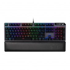 Клавіатура дротова Asus TUF Gaming K7 Ukr USB Black (90MP0191-B0MA00)