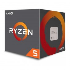 Процесор AMD Ryzen 5 1600 (YD1600BBAFBOX) AM4, 6 ядер, 3.2GHz, 3.6GHz, немає, L2: 3MB, L3: 16MB, 14nm, 65W, Box (Wraith Stealth cooler), Zen