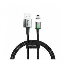 Кабель Baseus Zinc Magnetic Cable USB Lightning 2.4A 1m Black