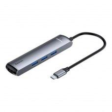 USB-Hub Baseus mechanical eye 6-in-1 smart HUB docking station (Type-C to PD 3xUSB 3.0 + RJ45 + HDMI)