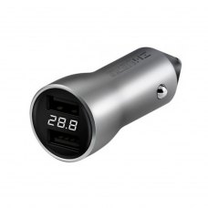 АЗП Xiaomi ZMi Car Charger 18W with Display (AP621), Silver