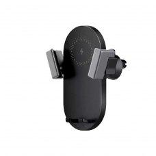 Автомобільний тримач + бездротовий зарядний пристрій Xiaomi ZMI Wireless Car Charger 20W (WCJ10) Black