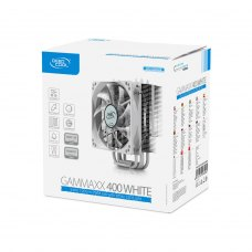 Кулер до CPU 120мм, Intel+AMD 130W, DeepCool GAMMAXX 400 White