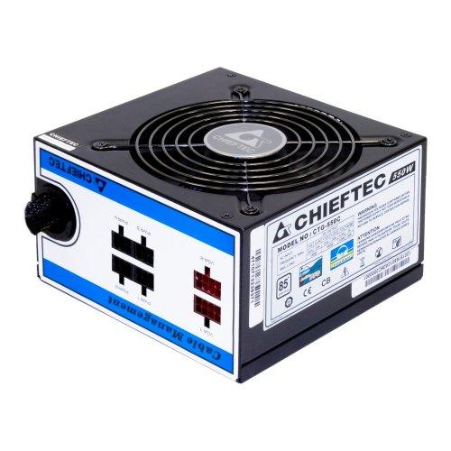 Блок живлення Chieftec A-80 (CTG-550C) 550Вт, Retail