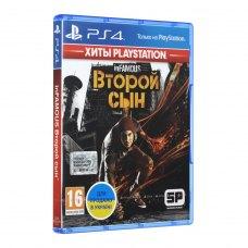 Гра PS4 InFamous: Второй сын [Blu-Ray диск]