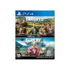 Гра для PS4 Far Cry 4 + Far Cry 5 [Blu-Ray диск]
