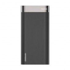 Зовнішній акумулятор Powerbank Baseus Parallel (Type-C, PD, QC3.0, 20000mAh, 18W), Black