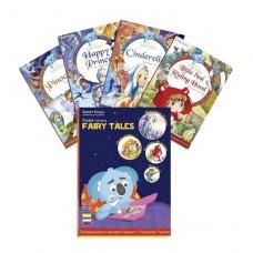 Книга інтерактивна Smart Koala Казки Попелюшка, Червона Шапочка, Щасливий Принц, Піноккіо
