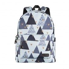 Рюкзак для ноутбука, 13, 2Е TeensPack Triangles (2E-BPT6114WT)