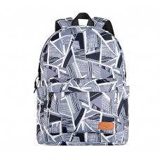 Рюкзак 2Е, TeensPack Absrtraction, сірий (2E-BPT6114GA)
