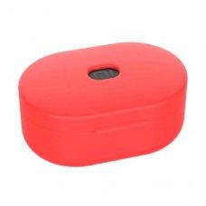 Кейс силіконовий для навушників Redmi AirDots (Earbuds Basic), Red