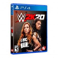Игра PS4 WWE 2K20 [Blu-Ray диск]