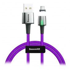 Кабель Baseus Zinc Magnetic Cable USB Type-C 3A 1m Purple