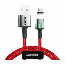 Кабель Baseus Zinc Magnetic Cable USB MicroUSB 2.4A 1m Red