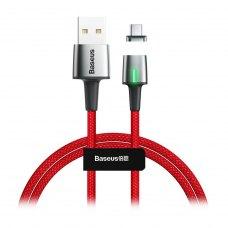 Кабель Baseus Zinc Magnetic Cable USB Type-C 3A 1m Red