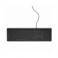 Клавiатура Dell Multimedia Keyboard-KB216 Ukrainian (580-AHHE)