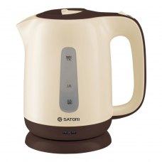 Електрочайник Satori SPK-7170-BR 1,7 л/ 1850 - 2200ВТ, диск, пластик