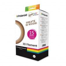 3D пластик Polaroid 3D Filament Wood ROOT (box of 15 reels) (3D-FP-PL-2501-00)
