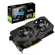 Вiдеокарта ASUS GeForce RTX2060 6GB GDDR6 DUAL EVO Advanced (DUAL-RTX2060-A6G-EVO)