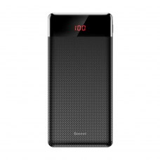 Зовнішній акумулятор Powerbank Baseus Mini Cu power bank 10000mAh (2 USB, 2.1A output/micro input, digital display) Black