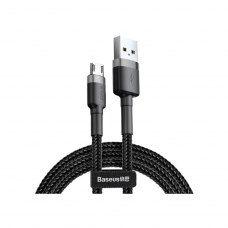 Кабель Baseus Cafule Cable USB For Micro 2.4A 1.0M Gray/Black