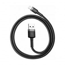 Кабель Baseus Cafule Cable USB For Lightning 2.4A 1.0M Gray/Black