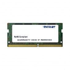 Модуль пам`яті SoDIMM DDR4 4GB Patriot (PSD44G266681S) 2666 MHz, CL19, 1 планка,1.2 В