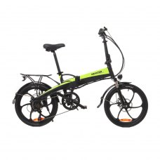 Електровелосипед Maxxter RUFFER (black-green)