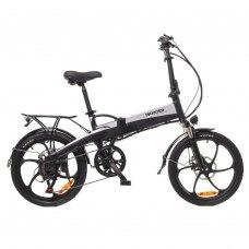 Електровелосипед Maxxter RUFFER (black-silver)