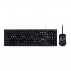 Комплект (клавіатура, миш) Gembird KBS-UM-03-UA Black USB