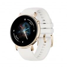 Смарт-годинник Huawei Watch GT2 42mm Frosty White (Diana-B19J), Champagne Gold