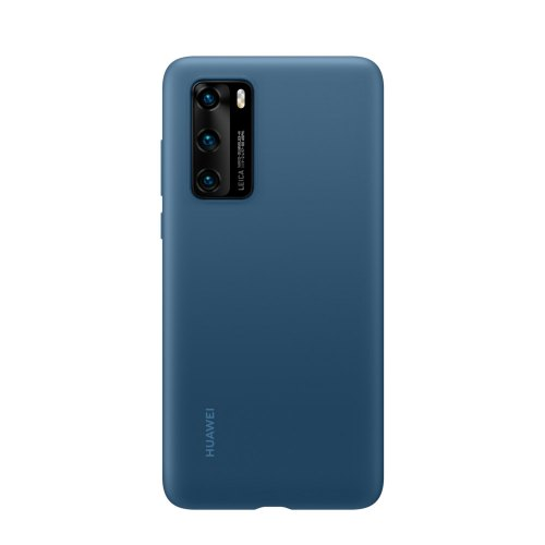 Чохол Huawei P40 Silicone Case, Ink Blue
