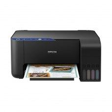 Багатофункціональний пристрій EPSON L3151 c WiFi (C11CG86411) струменева, кольорова, A4, 5760 x 1440, планшетний, USB