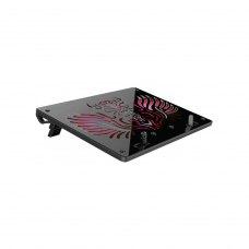 Охолоджуюча підставка для ноутбука ProLogix DCX-030 (rubber oil) 2 fans, Black