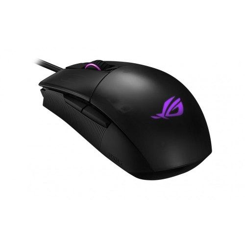 Мишка дротова ігрова, Asus ROG Strix Impact II USB Black (90MP01E0-B0UA00)