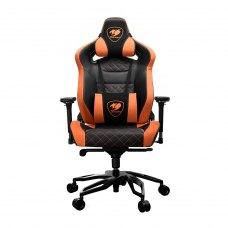 Крісло для геймерів Cougar Armor Titan Pro чорний+оранжевий