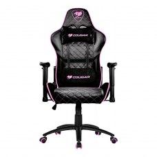 Крісло для геймерів Cougar Armor One Eva чорний+рожевий