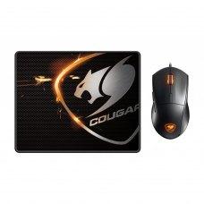 Комплект (мишка+килимок), Cougar Minos XC + Speed XC (260 x 210 x 3 мм)