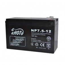 Акумуляторна батарея ENOT 12V 7.5AH (NP7.5-12) AGM