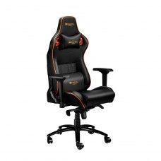 Крісло для геймерів Canyon Corax CND-SGCH5 Чорний-Оранжевий (CND-SGCH5)