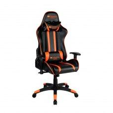 Крісло для геймерів Canyon Fobos CND-SGCH3 Чорний-Оранжевий (CND-SGCH3)