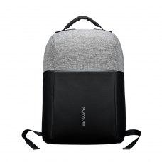 Рюкзак для ноутбука CANYON 15.6, анти-кража, USB 2.0, Чорний-Сірий (CNS-CBP5BG9)