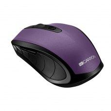 Миша бездротова CANYON CNS-CMSW08V, 1600dpi, 6 кнопок, Фіолетовий (CNS-CMSW08V)