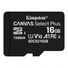 microSDHC карта 16Gb Kingston Canvas Select Plus (SDCS2/16GbSP)