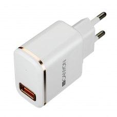 Мережевий зарядний пристрій CANYON CNE-CHA043WS USB + Lightning 2.1А White (CNE-CHA043WS)